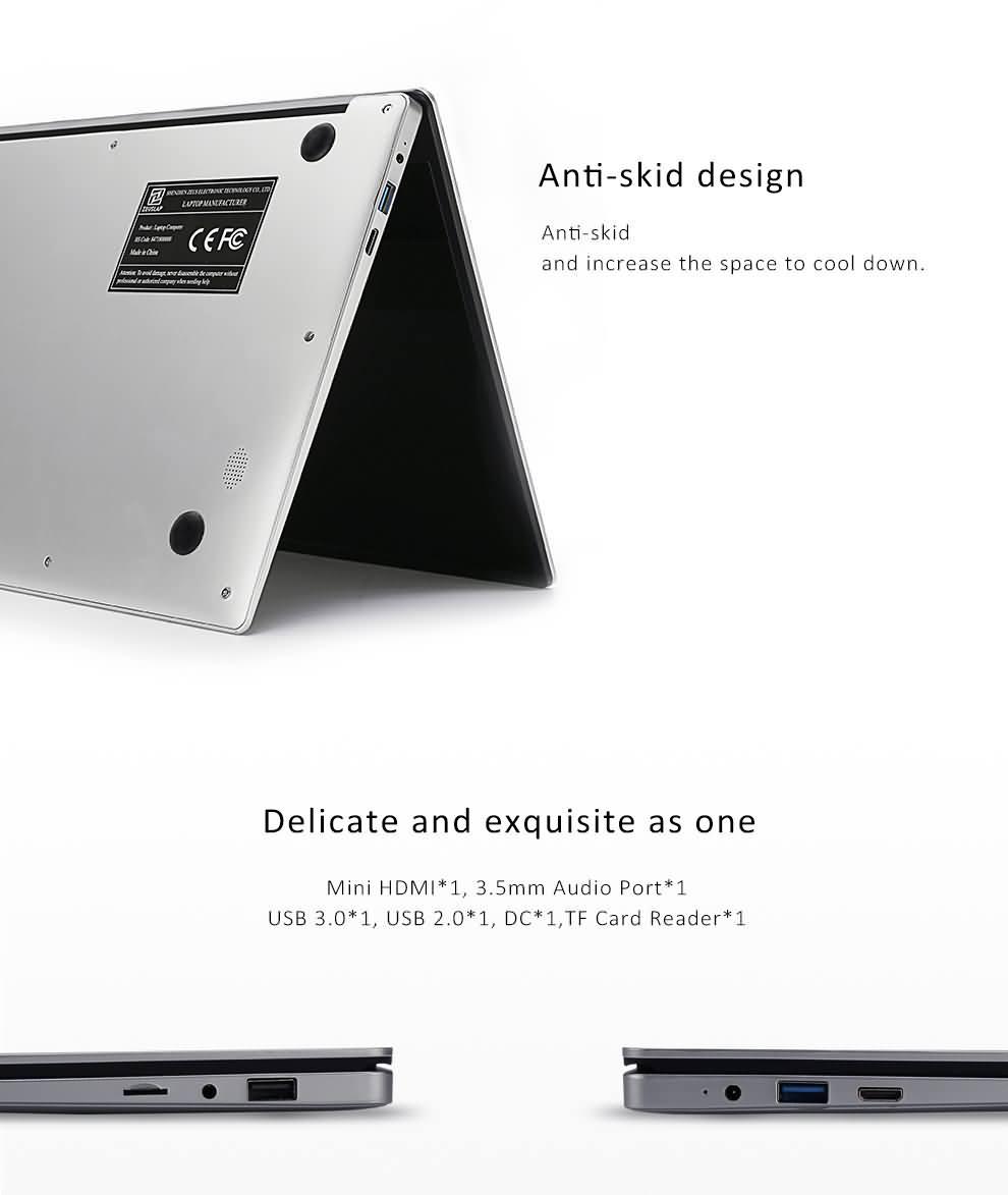 Buy ZEUSLAP 15.6inch 6GB RAM 128GB SSD 1920X1080 FHD IPS ...